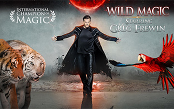 Greg Frewin Theatre Tickets