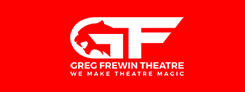 Greg Frewin Theater logo
